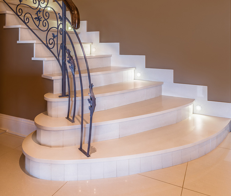 Quater landing staircase with a twist